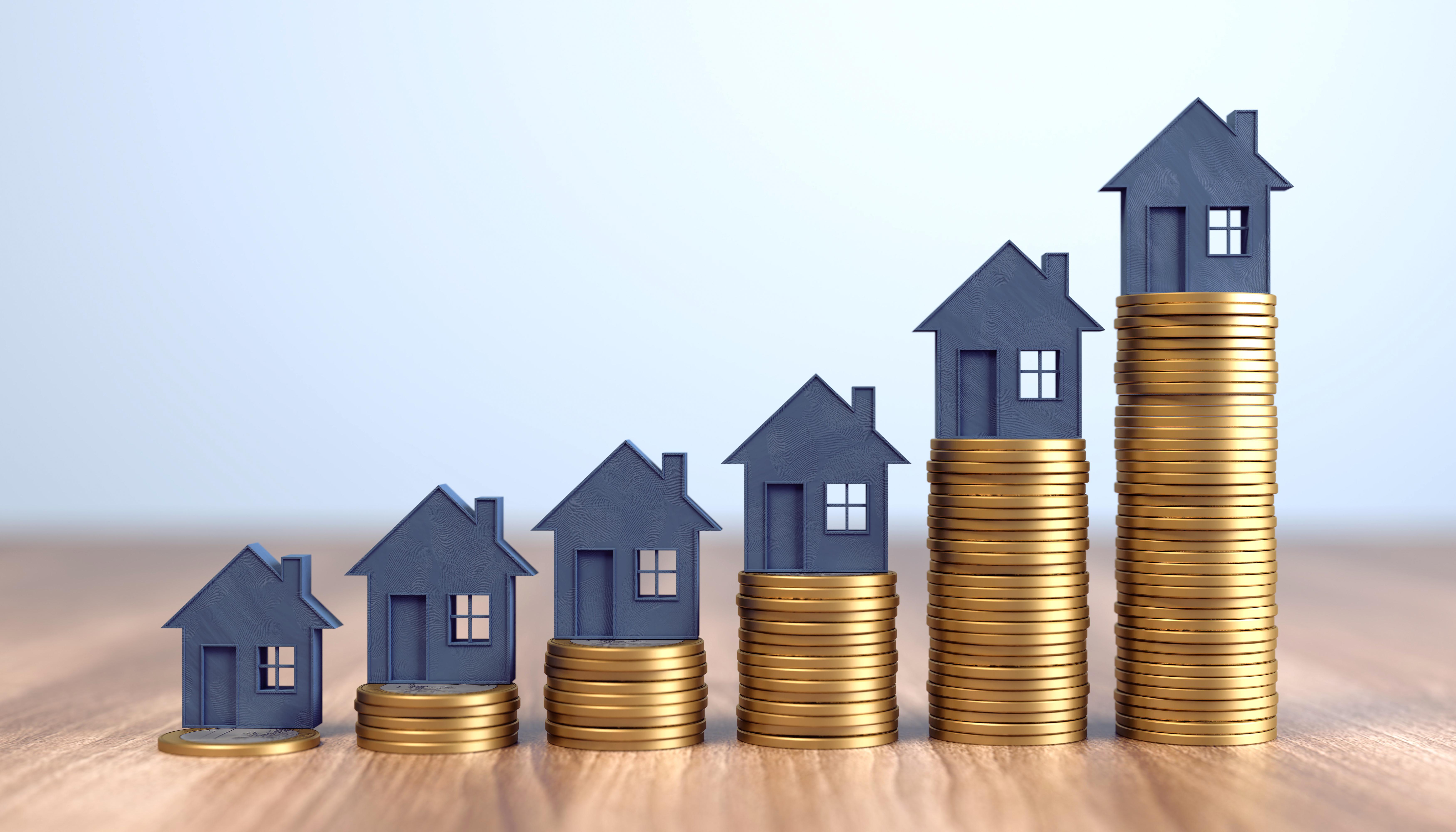 prix de l'immobilier en hausse